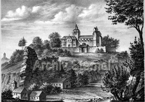 Sankt Peters-Stift zu Goslar - Alter Stich - Archiv Sternal