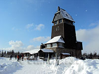 Hansk�hnenburg im Winter