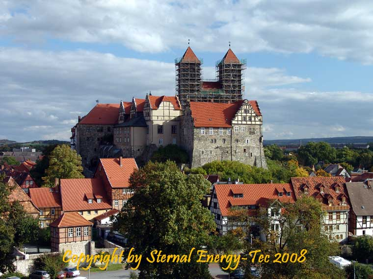 Stiftsburg in Quedlinburg - Foto: Sternal Media