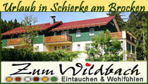 Ferienanlage Zum Wildbach in Schierke am Brocken Harz