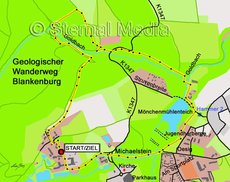 Geologischer Wanderweg um Blankenburg