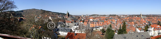 Blick vom Zwinger in Goslar - Foto Sternal Media