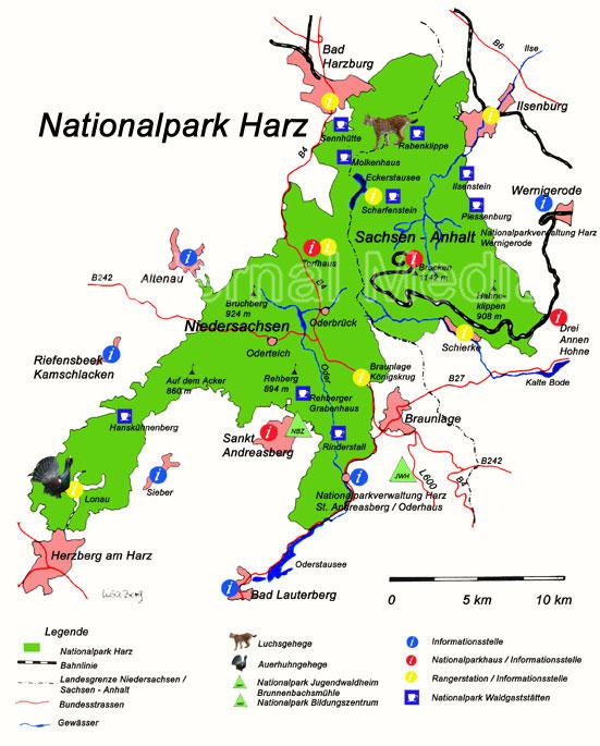 Ddr Grenze Karte Harz.Nationalpark Besucherzentrum Torfhaus Im Harz